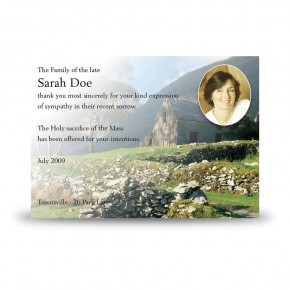 Heritage of Donegal Acknowledgement Card
