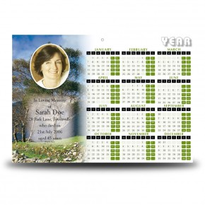 Heritage of Donegal Calendar Single Page