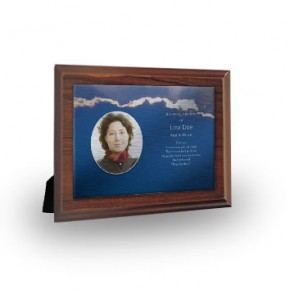 Cloudburst Back Plaque