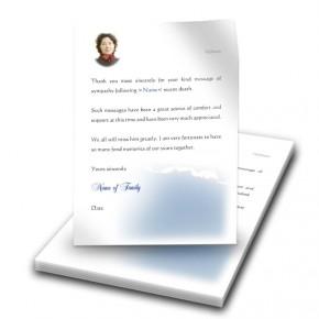 Cloudburst Back Thank You Letter