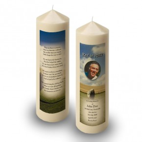 Standing Stones Co Kildare Candle