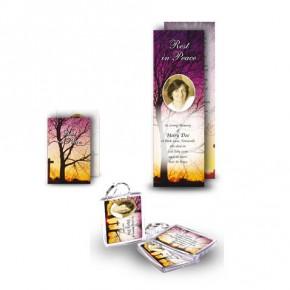 Cross & Tree Sunset Pocket Package