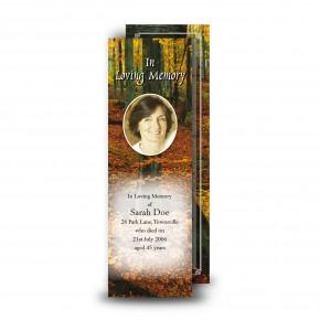 Autumn Bookmarker