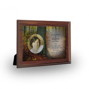 Autumn Plaque