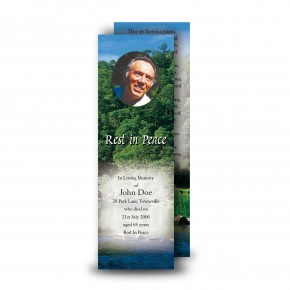 River & Trees Co Roscommon Bookmarker