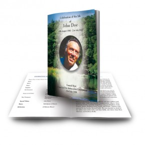 River & Trees Co Roscommon Funeral Book