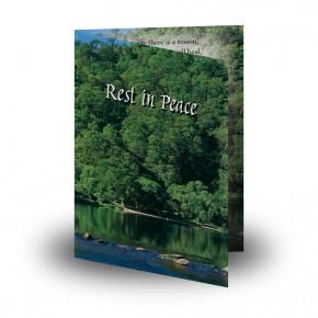 River & Trees Co Roscommon Folded Memorial Card