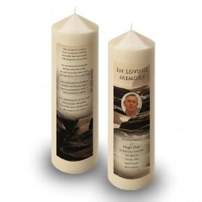 Sea Rocks Co Wexford Candle