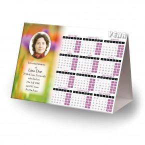 Poppy Flower Calendar Tent