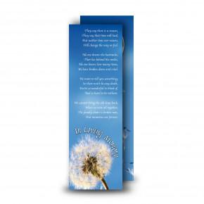 Dandelion Bookmarker