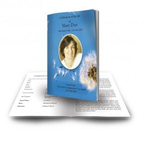 Dandelion Funeral Book