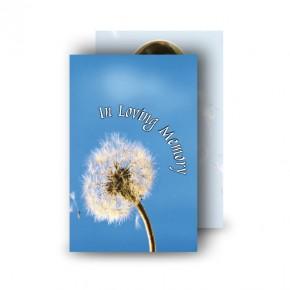 Dandelion Wallet Card