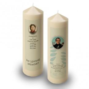 Saint Charles Candle