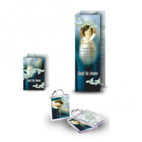 Blue Tulips Pocket Package