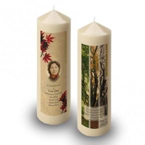 Tree Seasons Candle