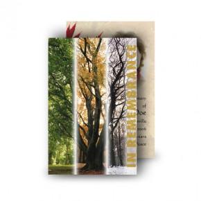 Tree Seasons Wallet Card