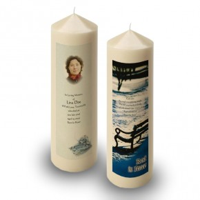 Round O Snow Co Fermanagh Candle