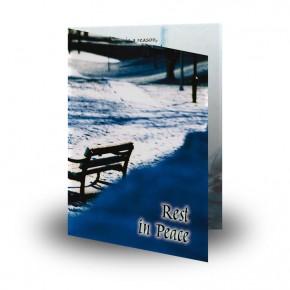 Round O Snow Co Fermanagh Folded Memorial Card