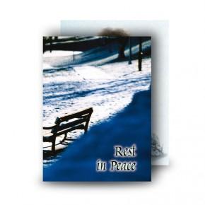 Round O Snow Co Fermanagh Standard Memorial Card