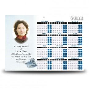 Round O Snow Co Fermanagh Calendar Single Page