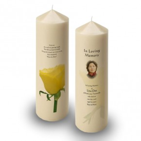Summer Rose Blossom Candle