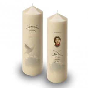 Watching Over You Candle
