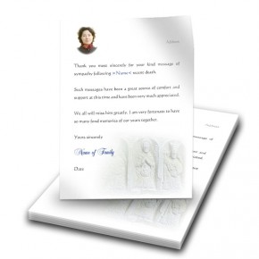 Crafted Symbols Co Louth Thank You Letter