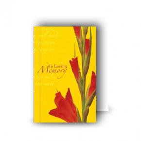 Late Spring Gladioli Wallet Card