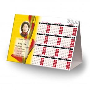Late Spring Gladioli Calendar Tent