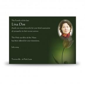 Serenity Acknowledgement Card