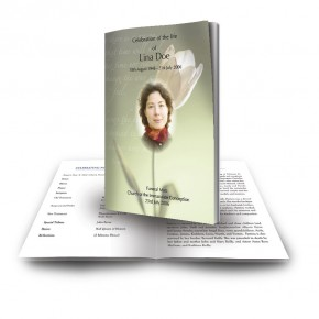 Serenity Funeral Book