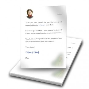 Serenity Thank You Letter