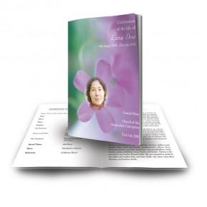 Effloresce Funeral Book