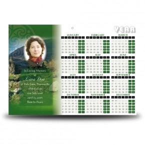Irish Roots Calendar Single Page