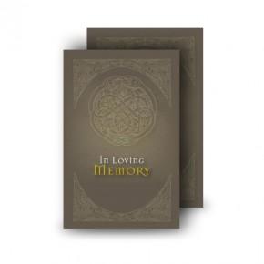Decorative Links Wallet Card