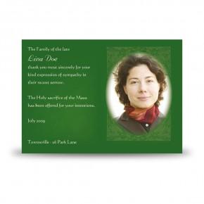 Endless Ties Acknowledgement Card