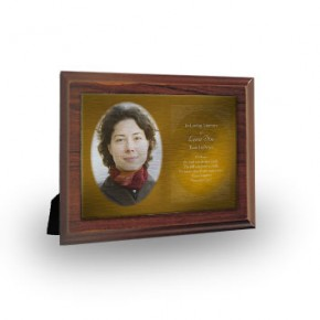 A Glowing Tribute Plaque