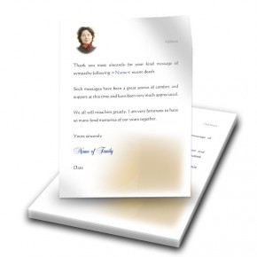 A Glowing Tribute Thank You Letter