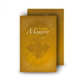 A Glowing Tribute Wallet Card