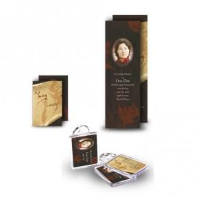 Paper Rose Pocket Package