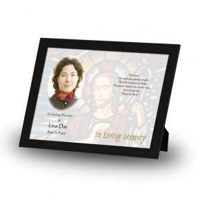 Stained Glass Our Lord Framed Memory