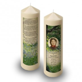 Bluebells Castle Coole Co Fermanagh Candle