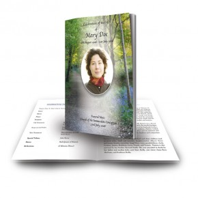 Lane Bluebells Castle Coole Co Fermanagh Funeral Book
