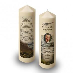 Lough Erne Shore Co Fermanagh Candle