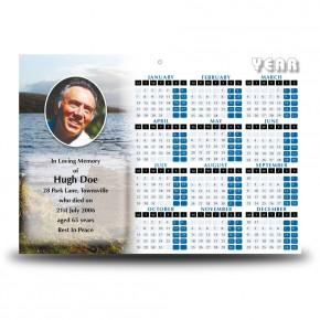 Lough Erne Shore Co Fermanagh Calendar Single Page
