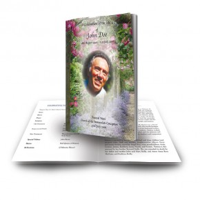 A Gardeners Paradise Funeral Book
