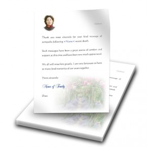 A Gardeners Paradise Thank You Letter