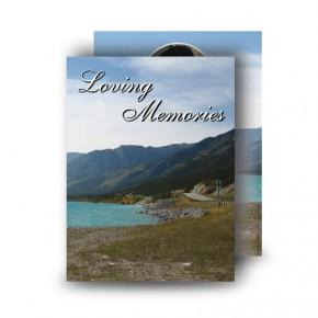 The Rockies Canada Standard Memorial Card