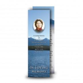 Canadian Mountain Scene Bookmarker