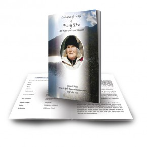 Andes Mountains South America Funeral Book
